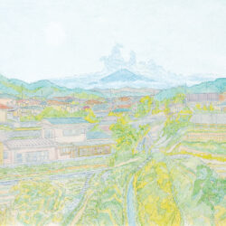 Fujii Shinichi_1_Mt. Fuji's beautiful water is used to cultivate farms and rice fields and keep people alive and happy