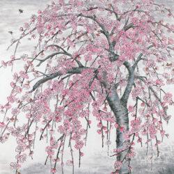 Itabashi Chizuko_1_Peach Blossoms