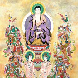 Koseki Seiji_1_Bhaisajyaguru Triad and Twelve Heavenly Generals