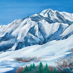 Mt. Goryu in Winter