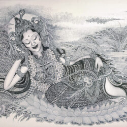 Sachiko & Kuncit _1_Goddess Wearing a Pearl