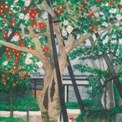 Five Colored Camellia (Byakugoji-Temple)