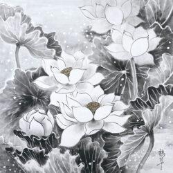 Sugimoto Kakusui_1_Lotuses